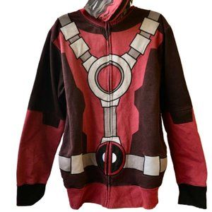 Marvel Avengers Iron Man Hoodie Jacket with FACE